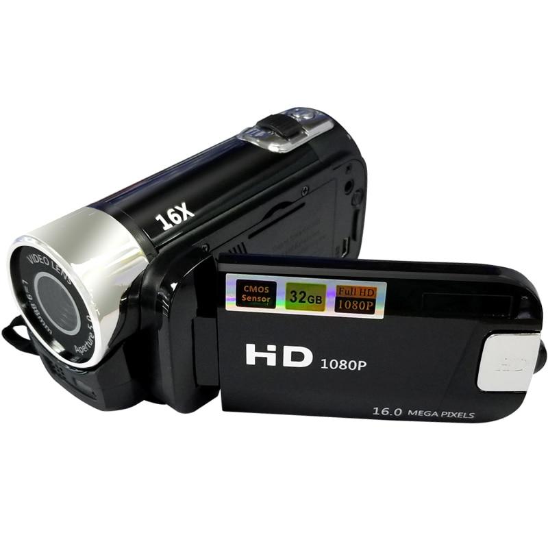 Image 2 - Full HD 1080P Digital Video Camera 2.7inch LCD Screen Digital Camera 16X Digital Zoom Anti shake DV DVR Video Recorder Camcorder-in Point & Shoot Cameras from Consumer Electronics