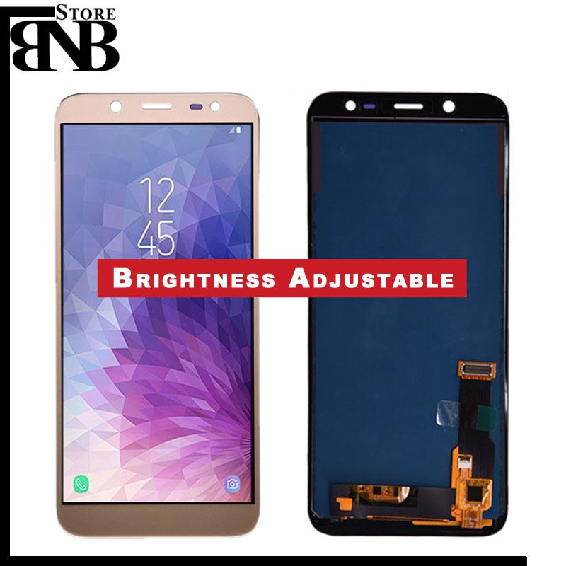 For Samsung Galaxy J6 2018 J600 J600F J600Y LCD screen Display and touch Glass pannel Assembly TFT version Can adjust brightnessFor Samsung Galaxy J6 2018 J600 J600F J600Y LCD screen Display and touch Glass pannel Assembly TFT version Can adjust brightness