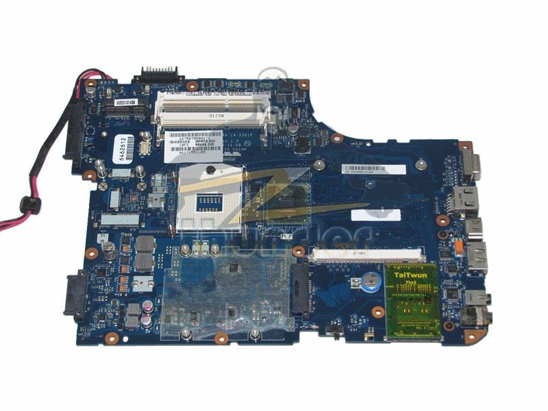 K000093520 LA-5361P for toshiba satellite A500 laptop motherboard HM55 DDR3 with graphics slot 1310a2338704 sps v000198160 main board for toshiba satellite a500 a505 laptop motherboard hm55 ddr3 with graphics slot