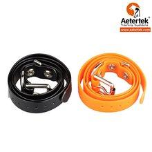 Прочный ошейник для собаки, заменяемый ремешок для моделей Aetertek, оранжевый, зеленый, серебристый, черный