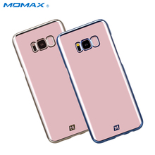 Momax Original Crystal Case for Samsung Galaxy S8 Plus Cover Transparent Clear PC Hard Protector Cover for Samsung S8+ Coque