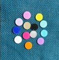 16mm Acrylic Circle Jewelry Accessories DIY Findings Clored Beads