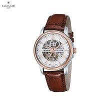 Наручные часы Earnshaw ES-0014-02 мужские механические с автоподзаводом на кожаном ремешке