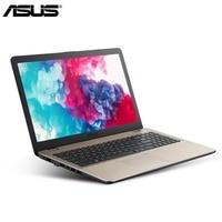 15,6 дюймов Asus офисный ноутбук 4 ГБ оперативная память 1 ТБ Встроенная DDR4 компьютер ультратонкий HD 1920*16:9 1080 PC Портативный Wi Fi I7 8550U тетрадь PC
