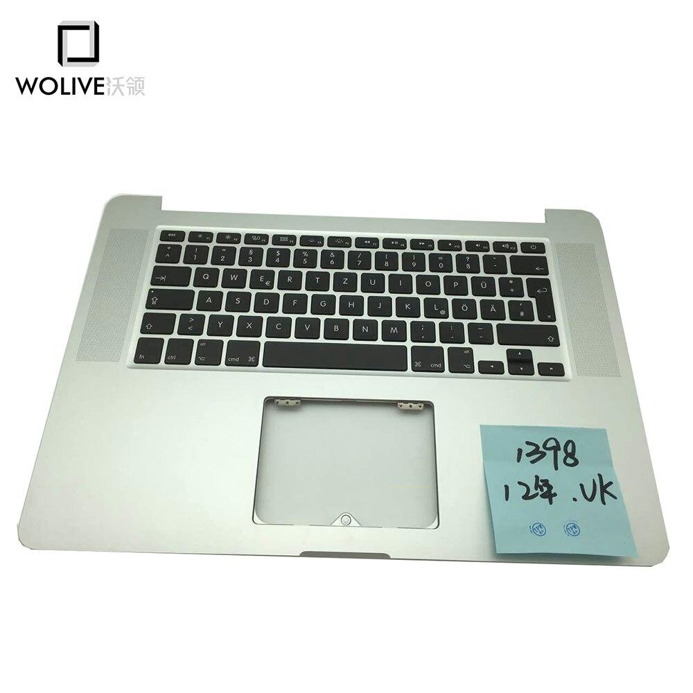 New Topcase For font b Macbook b font Pro Retina 15 4 A1398 2012 Palmrest with