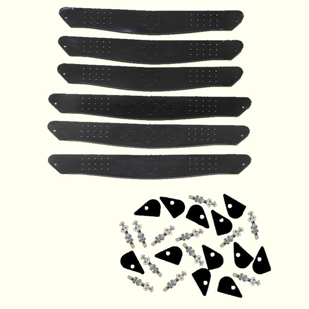 Детская подставка для ног коляска педаль для ног легкая пластиковая Высококачественная Черная детская коляска - Цвет: small