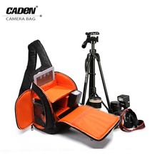 CADeN SLR Sling Camera Bag Daypack Backpack For Canon Nikon Sony Dslr Cameras Photography Photo Video Bag with rain cover