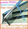 JCUV JOURNEY Kuga Fuja Borda Mokka Encore Bússola Land Cruiser Prado 120 150 sol viseira janela chuva escudo defletor, 4 pçs/set