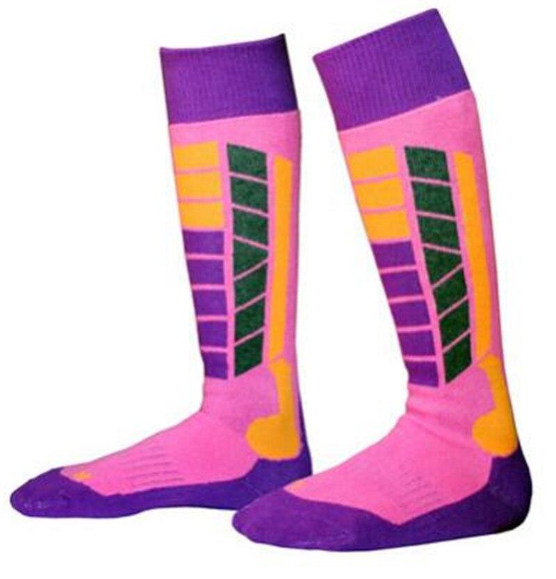 Взлетели зима Термальность лыжный Носки для девочек плотные теплые спортивные Сноубординг Велоспорт Лыжный Спорт Походные носки гетры для...