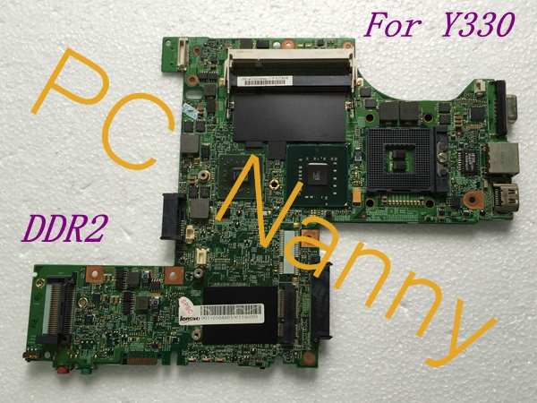 FOR LENOVO Y330 LAPTOP Intel MOTHERBOARD Pm45 DDR2 s479 48.4Y603.031 100% TESTED