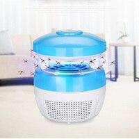 Usb radiationless elétrica mosquito assassino armadilha fotocatálise casa mudo uv night light lâmpada anti mosquito zapper