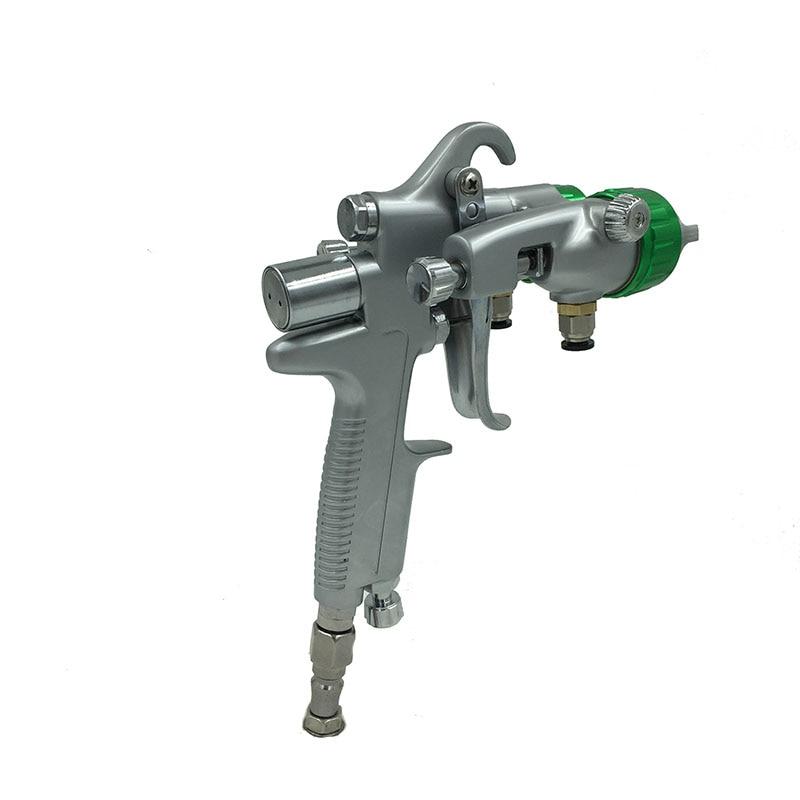 SAT1189 nano krómfestékszóró pisztoly nagynyomású kettős - Elektromos kéziszerszámok - Fénykép 2