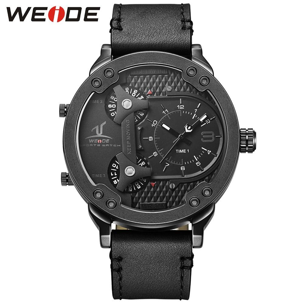 2017 WEIDE Watches Men Luxury Brand Weide LED Digit Military Quartz-Watch 3 Timerelogios masculinos Sport Wrist Watches Relojes marc weide bielefeld