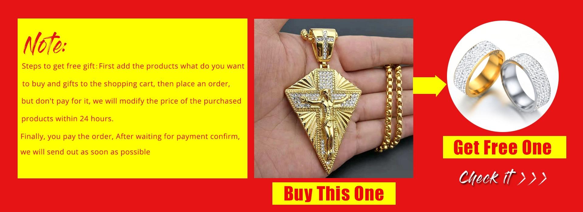 corrente cor do ouro dos homens crucifixo