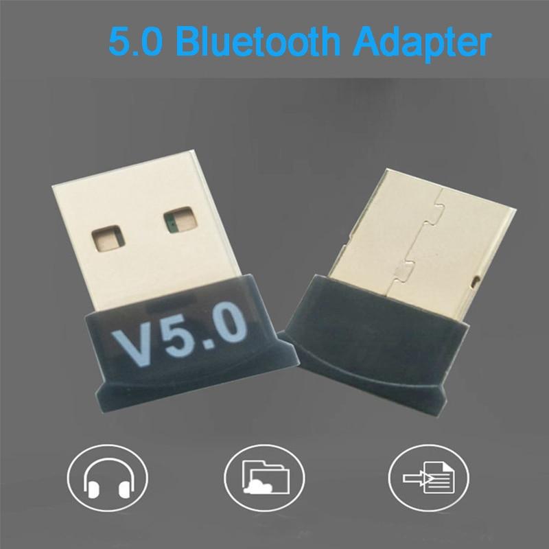 Creacube V5.0 Wireless USB Bluetooth 5.0 Adapter Bluetooth Dongle Music Receiver Adaptador Bluetooth Transmitter For PC RTL8761B 5
