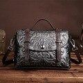 2017 новая сумка ретро моды руки кисть цвет кожаная сумка Crossbody плеча мешок руки