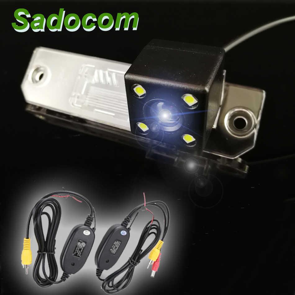 HD 170 degrés Sony MCCD lentille Starlight vision nocturne étanche caméra de recul pour VW Volkswagen Lavida 2008 ~ 2011