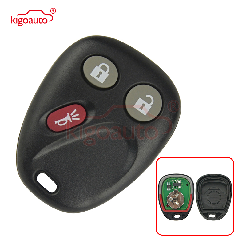 LHJ011 3 button 315Mhz remote fob for GM Cadillac Escalade Chevrolet Tahoe 21997127 kigoauto