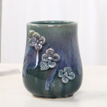 9cm Diameter Artistic Creative European Style Vase Shape Breathable Ceramic Flower Pot Pottery #7 vase