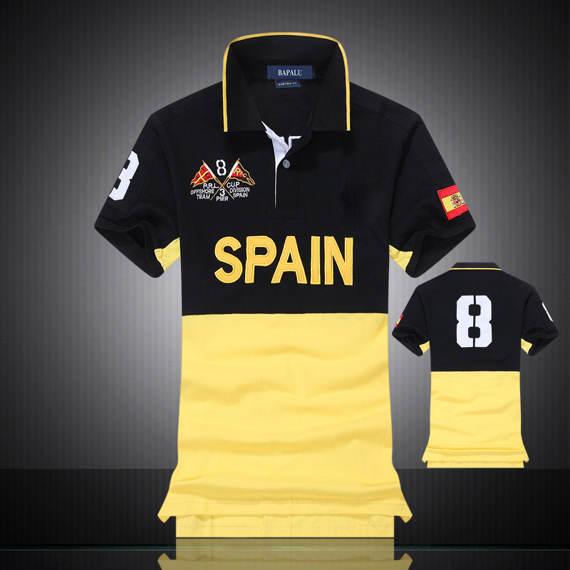 Polo   Shirt Men 2019 Short Sleeve Turn-down embroidery men   polo   shirts with short sleeve High quality Breathable   polo   shirt men