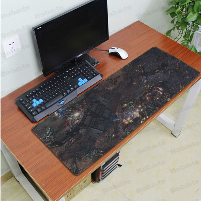 Babaite starcraft 2 wings of liberty Office Mice Gamer Soft Mouse Pad Speed Control Version Large Gaming Mouse Pad in Mouse Pads from Computer Office