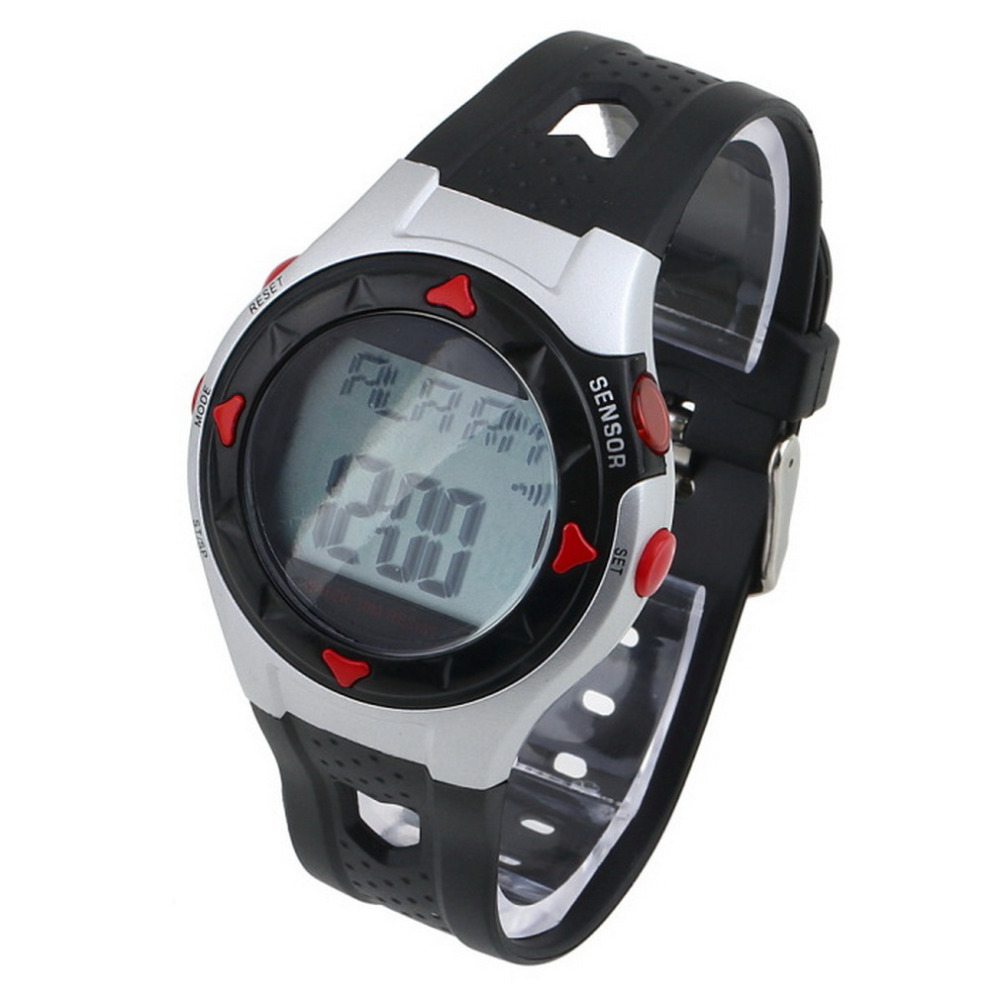 1PC Smart Fitness Waterproof Heart Monitor Outdoor Sport Exercise Calorie Heart Rate Counter Wrist Watch for Cycling Running