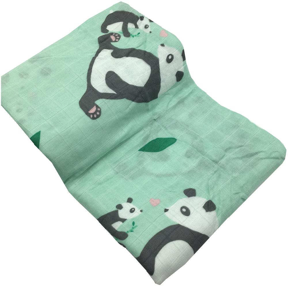 Muslin Baby Blankets Bedding 70% Bamboo Fiber 30% Cotton Swaddle Multifunctional Envelopes For Newborns Receiving Blankets