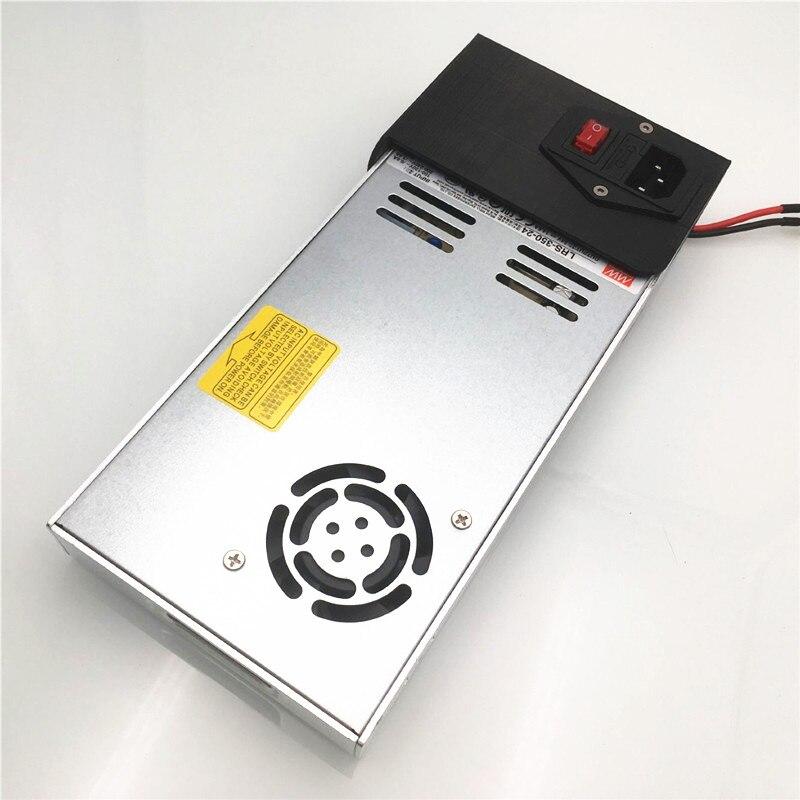 Funssor Ender-3S alimentation d'origine Meanwell LRS-350-24 pour imprimante 3D Creality Ender 3