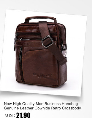 Fashion New Men Genuine Leather Briefcase Cross Body Messenger ... 419aa3aa4911c