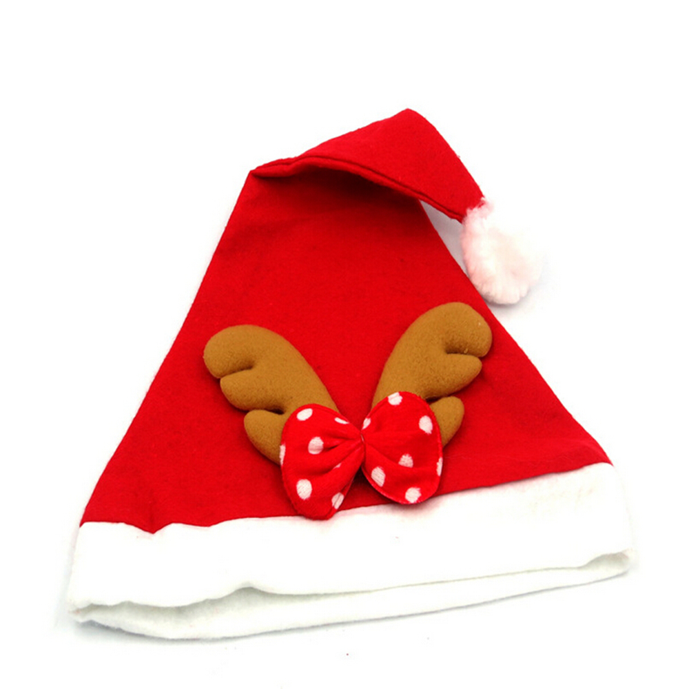 Snowman hats for crafts - Cartoon Children Adult Christmas Hats Xmas Crafts Santa Claus Cap Natal Party Dress