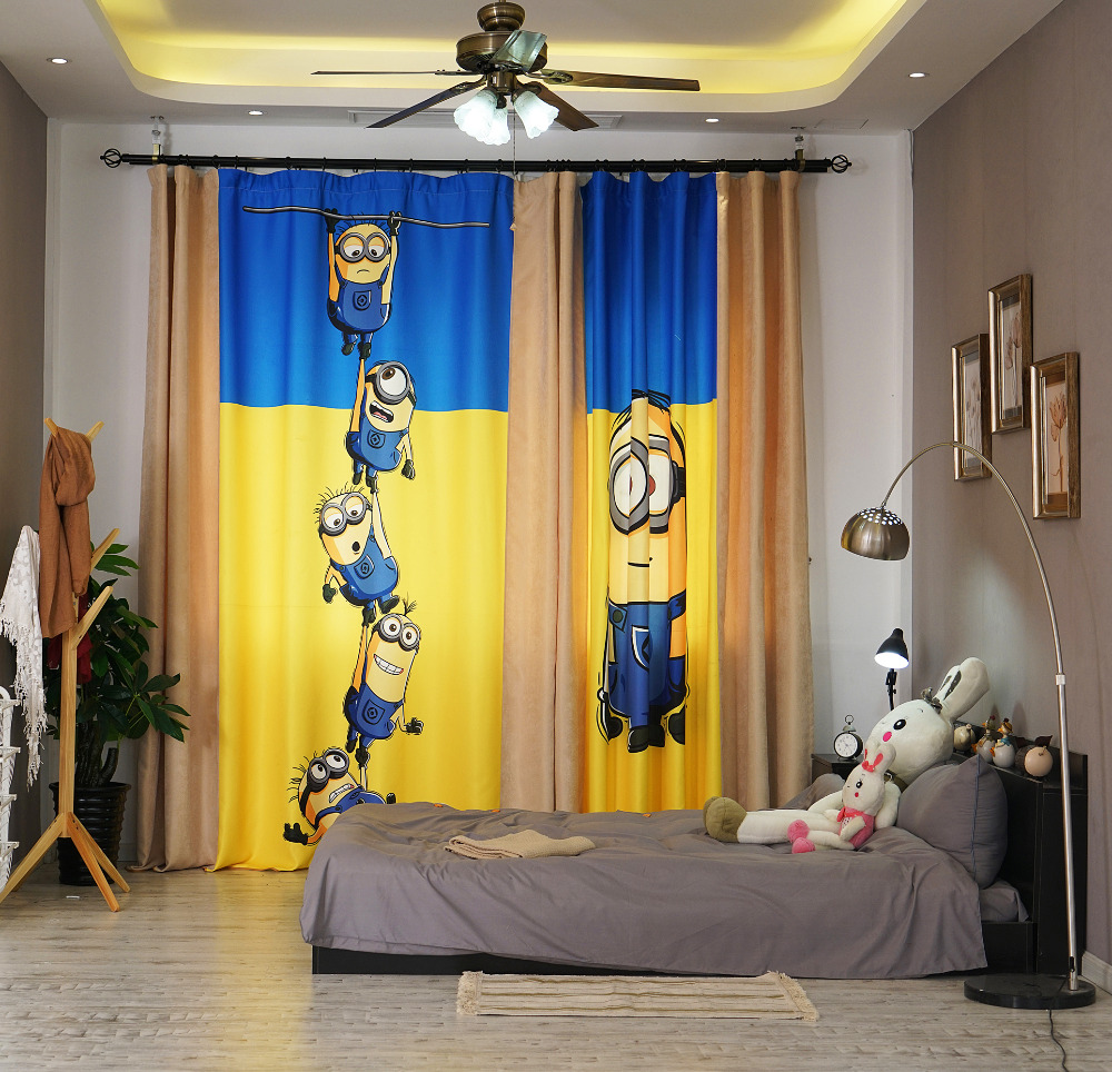 Yellow Curtains For Living Room Popular Yellow Patterned Curtains Buy Cheap Yellow Patterned
