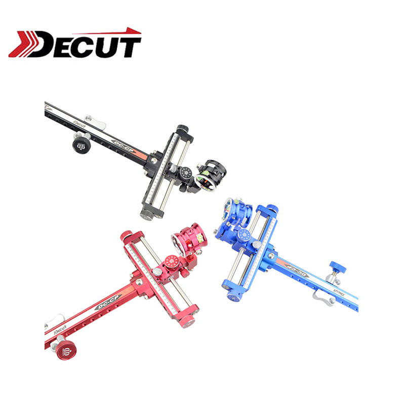 1Set Decut DC-CP Archery Sight High-grade Aluminum Alloy Fit For Compound Bow Outdoor  Hunting Accessory