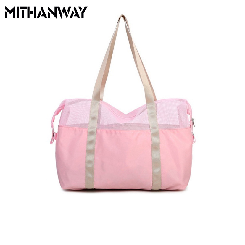 New Arrival Women Waterproof Outdoor Multifunctional Sport Swimming Beach Storage Shoulder Bag 4 Colors 2018