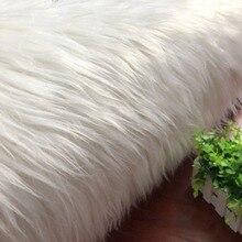Подгонянный производителем игрушечный ковер падающий волос Белый плюш прокатки волос шерсть искусственный мех искусственный плюш