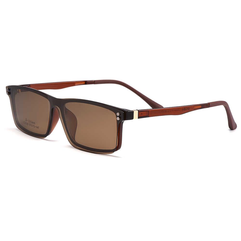 نظارات بصرية أنيقة للرجال من Gmei بإطار عالي الخفة مستقطبة على النظارات الشمسية للنساء S2026