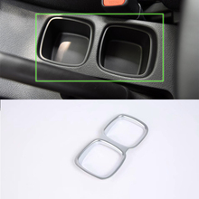 цена на Car Accessories Interior Decoration ABS Interior Water Cup Holder Cover Trim For SUZUKI S-Cross 2017 Car Styling