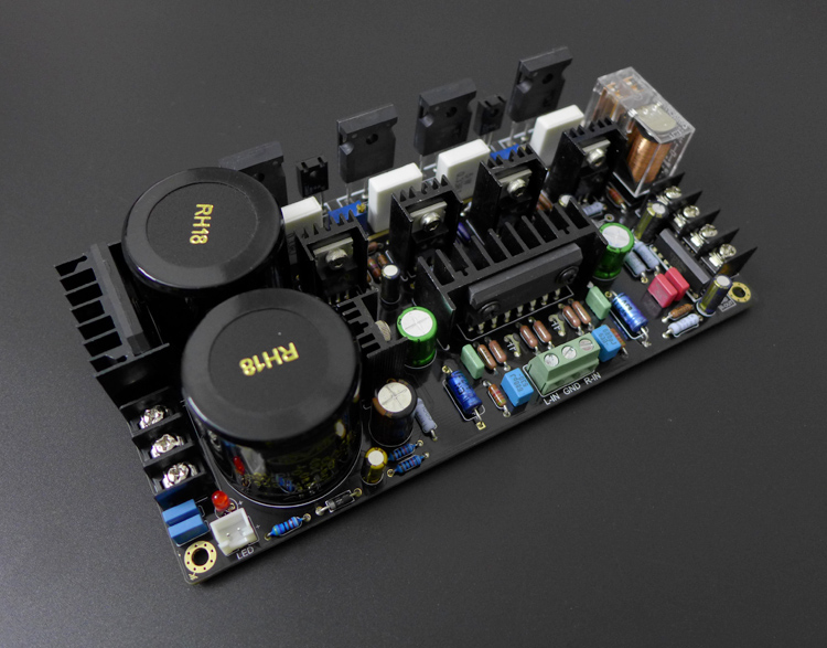 Assembly M1 IRF9240 IRF240 FET Amplifier Board 120W+120W Stereo HiFi Power Amp Board New douk audio lm3886 dual parallel pure power amplifier hifi amp board 120w 120w