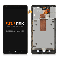 100% Original For NOKIA Lumia 1520 LCD Touch Screen with Frame For NOKIA Lumia 1520 Display Digitizer Assembly Replacement Parts