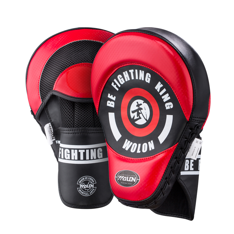 Wolon 1 Piece Sparring Muay Thai MMA Boxing Pads Punching Training Focus Mitts Strike Target Martial Arts Sanda Gear 2019 EO