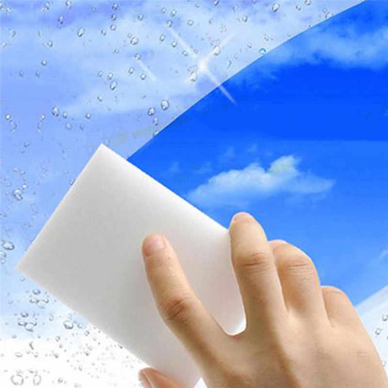 20 stks 10x6x2 cm Magic Sponge Eraser Cleaning Melamine multifunctionele Schuimreiniger Auto styling Auto Accessoires Car cleaning