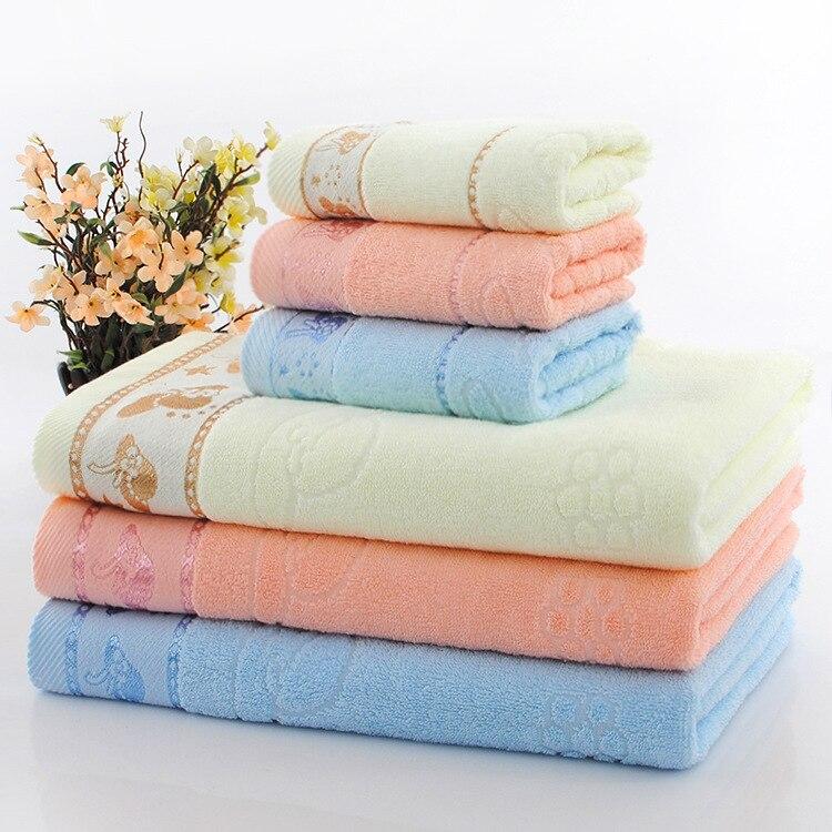 Spa Quality Towels: 1 Set High Quality Thick Luxury 100%Cotton Bath Towels