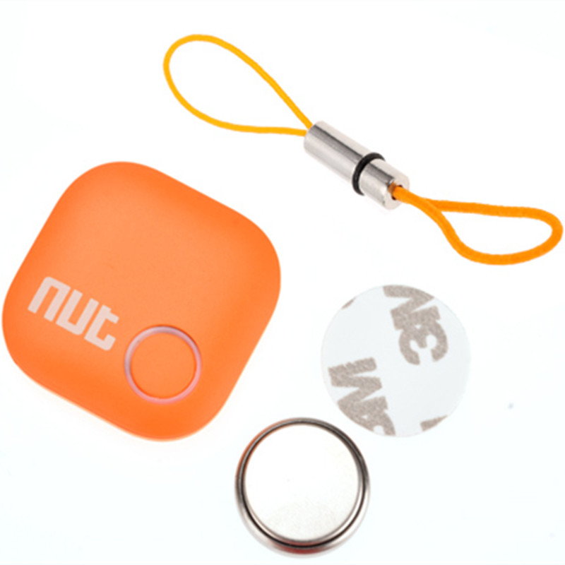 FineFun  New Design Nut 2 Smart Finder Bluetooth Tracking Tracker Bag Key Finder Locator Alarm for IOS Android 3 Colors