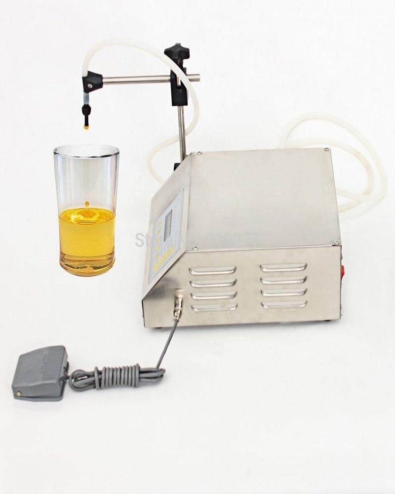 Electrical Liquids Filling Machine Bottled Water Filler Beverage Foods Oils Bottling Equipment Tools Nail Auto Pump