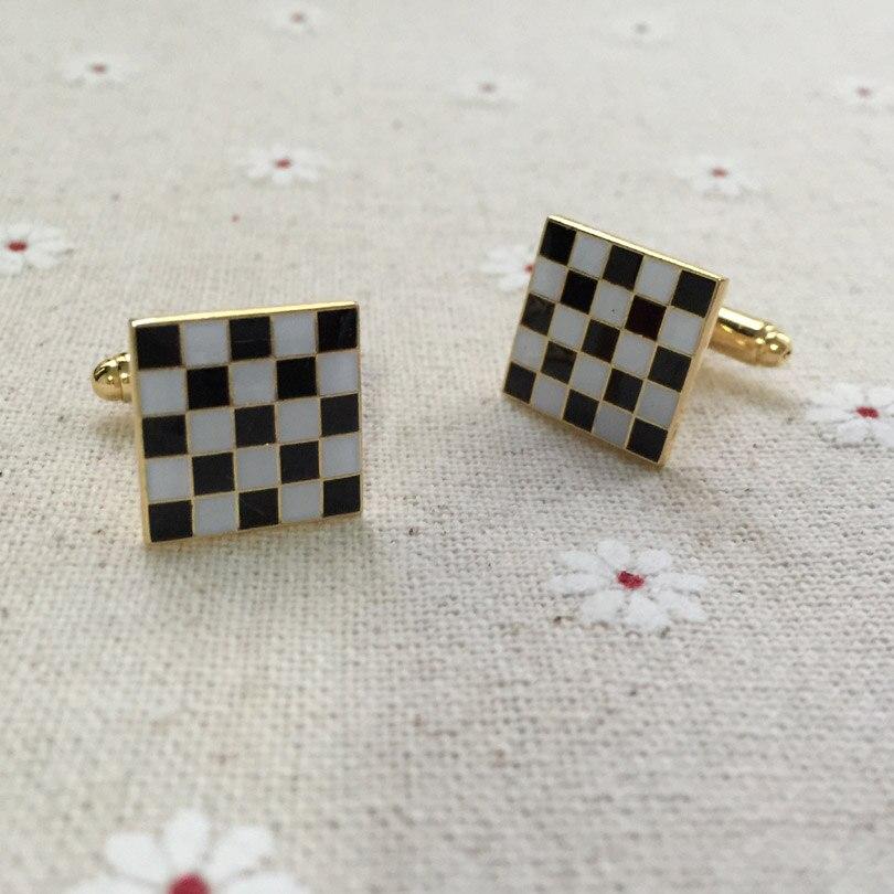 10 par lote blanco y negro Alfombras gemelos masónicos freemasonary . 618aa3d254a