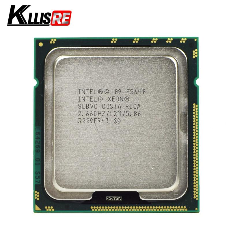 QTY 1x INTEL Six-Cores ES CPU L5640 2.26GHZ//12MB LGA1366 TDP 60W