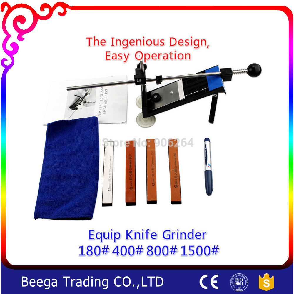New Arrival Design full metal fixed angle knife sharpener Dao friends necessary a full set of sharpening stone Grinding scissors zy fine 3000 dual whetstone water stone sharpener sharpening huge 49 80 231mm