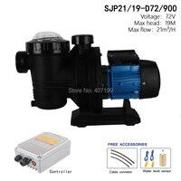 72V 900watts Solar Pool Water Pump ,solar powered swimming pool pumps, solar pump for pool SJP21/19 D72/900