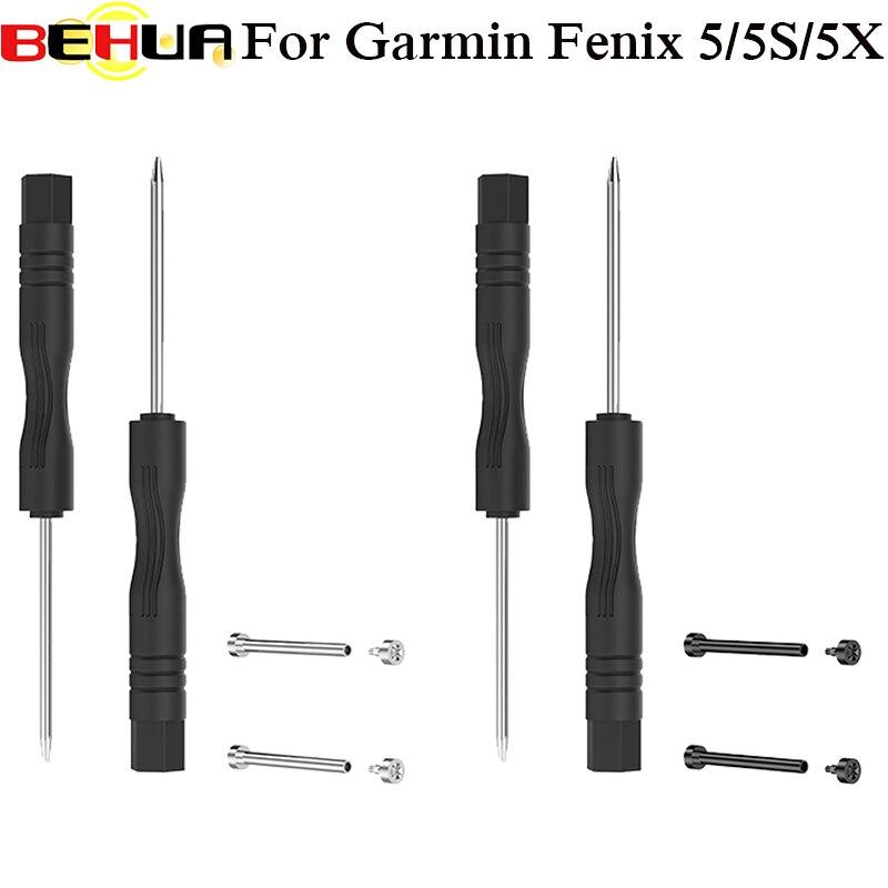 Screws Heart Rate Watch Strap Screw Rod Strap Watch Accessories For Garmin Fenix 3 3 HR Fenix 5S 5X 5 Plus Forerunner 935 Tool