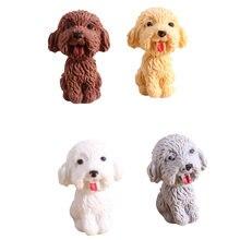 Ластик kawaii dog 36 шт/лот дизайнерский карандаш в форме собаки