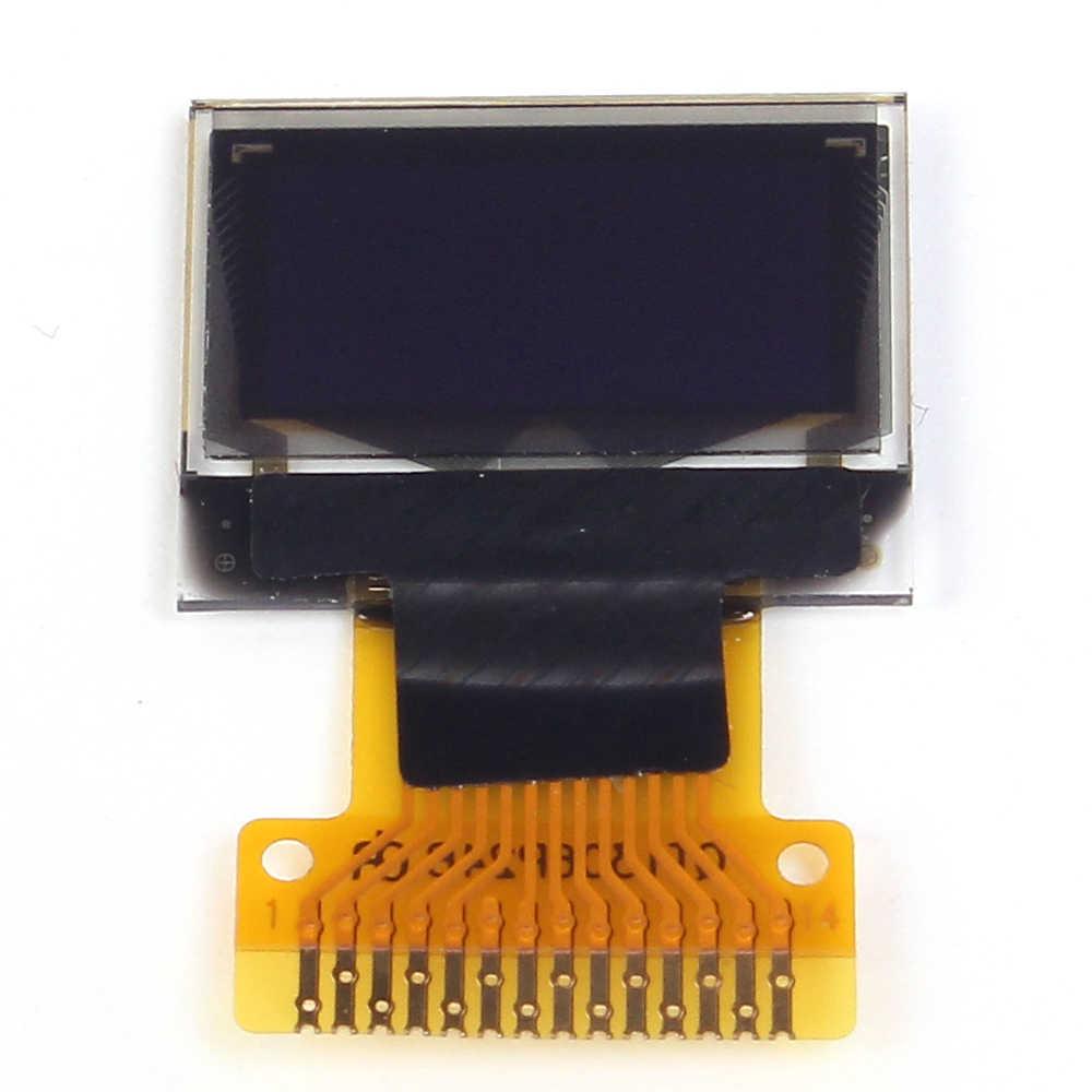 """Белый 0,49 дюймов OLED Дисплей модуль 64x32 0,49 """"Экран межсоединений интегральных схем для Arduino AVR STM32"""